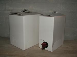 Bag-in-box m. pose, 3 liter