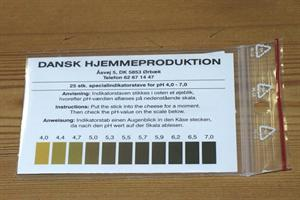 pH-indikator strips (25 stk.)